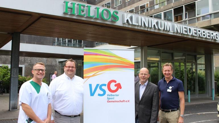 Medizinischer Partner für die VSG in Velbert