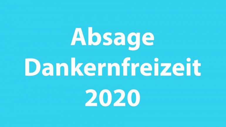 Absage VSG-Ferienfreizeit Schloss Dankern