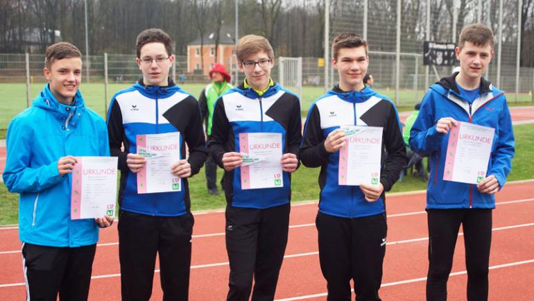 VSG Leichtathleten sind erfolgreich in die Freiluftsaison gestartet.