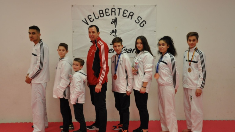 Erfolgreiches Taekwondo – Wochenende Velberter SG