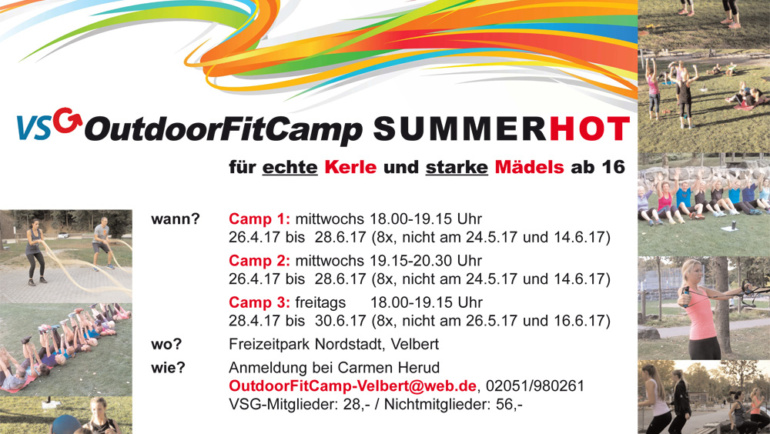 OutdoorFitCamp –  SUMMERHOT