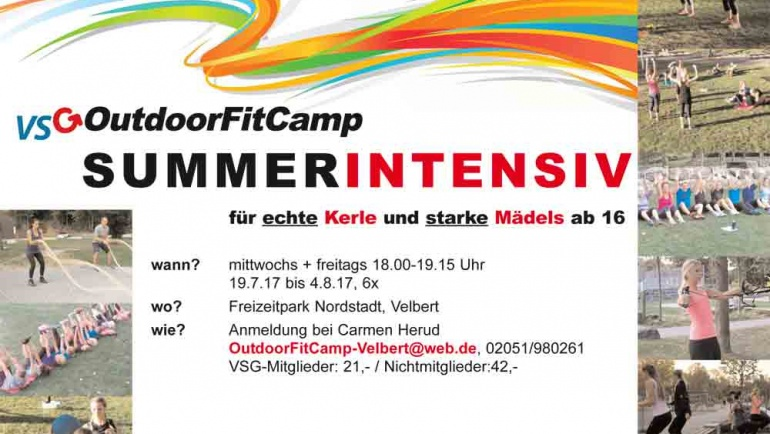OutdoorFitcamp – SUMMER INTENSIV