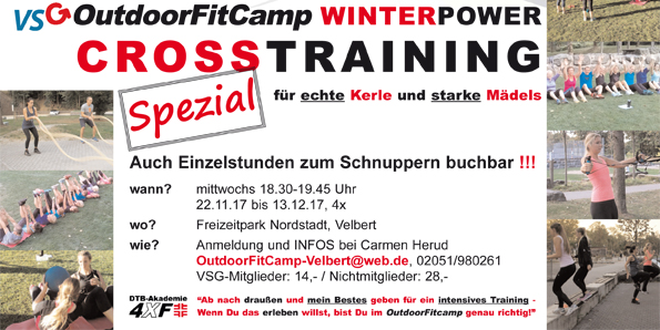 VSG Outdoor FitCamp WINTER POWER