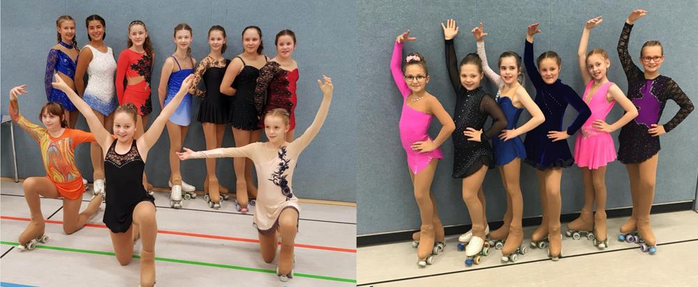 VSG erfolgreich bei der NRW-Jugendmeisterschaft im Rollkunstlauf