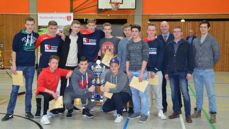 Stadt Velbert zeichnet die B1 Verbandsliga-Handballer für besondere sportliche Leistungen aus