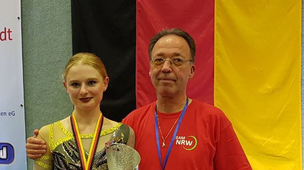 VSG Rollkunstlauf-Trainerin wird Deutsche Meisterin im Rollkunstlauf 2019