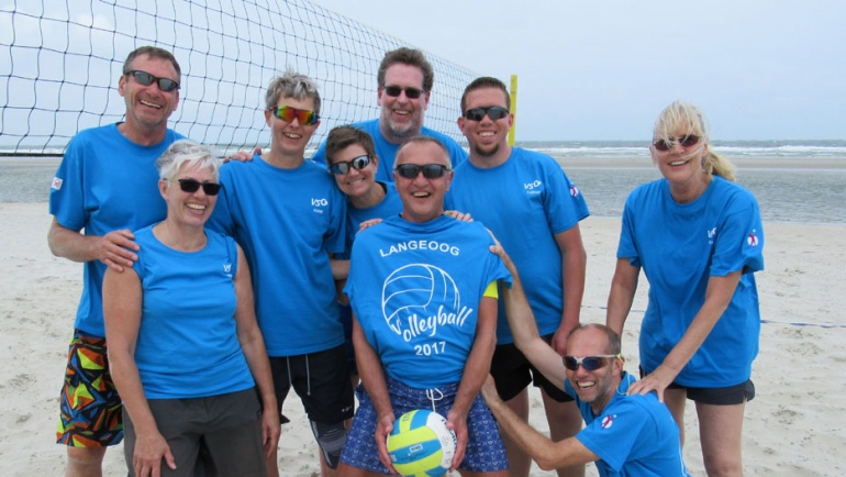 VSG Volleyballer auf Langeoog