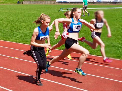 VSG-Leichtathleten aktiv bei den Kreistitelkämpfen