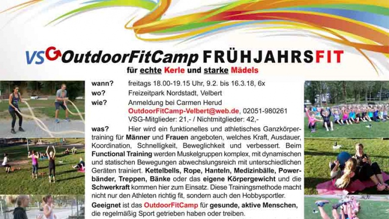 VSG OutdoorFitCamp FRÜJAHRSFIT