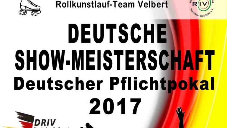 Das Rollkunstlaufteam präsentiert die Deutsche Show-Meisterschaft 2017