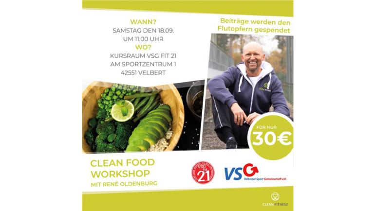 VSG-Benefitsveranstaltung für die Velberter Hochwassergeschädigten mit Rene Oldenburg