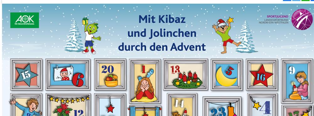 """Digitaler """"Adventskalender mit Kibaz und Jolinchen"""" bewegt VSG Familien"""