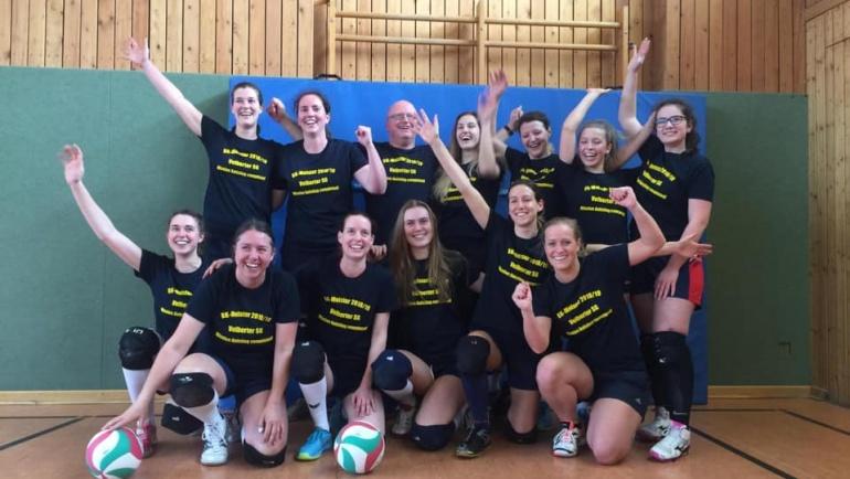 VSG Volleyballdamen gewinnen Meisterschaft