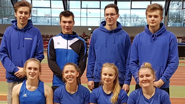 VSG erfolgreich bei Regional-Hallenmeisterschaften in Düsseldorf